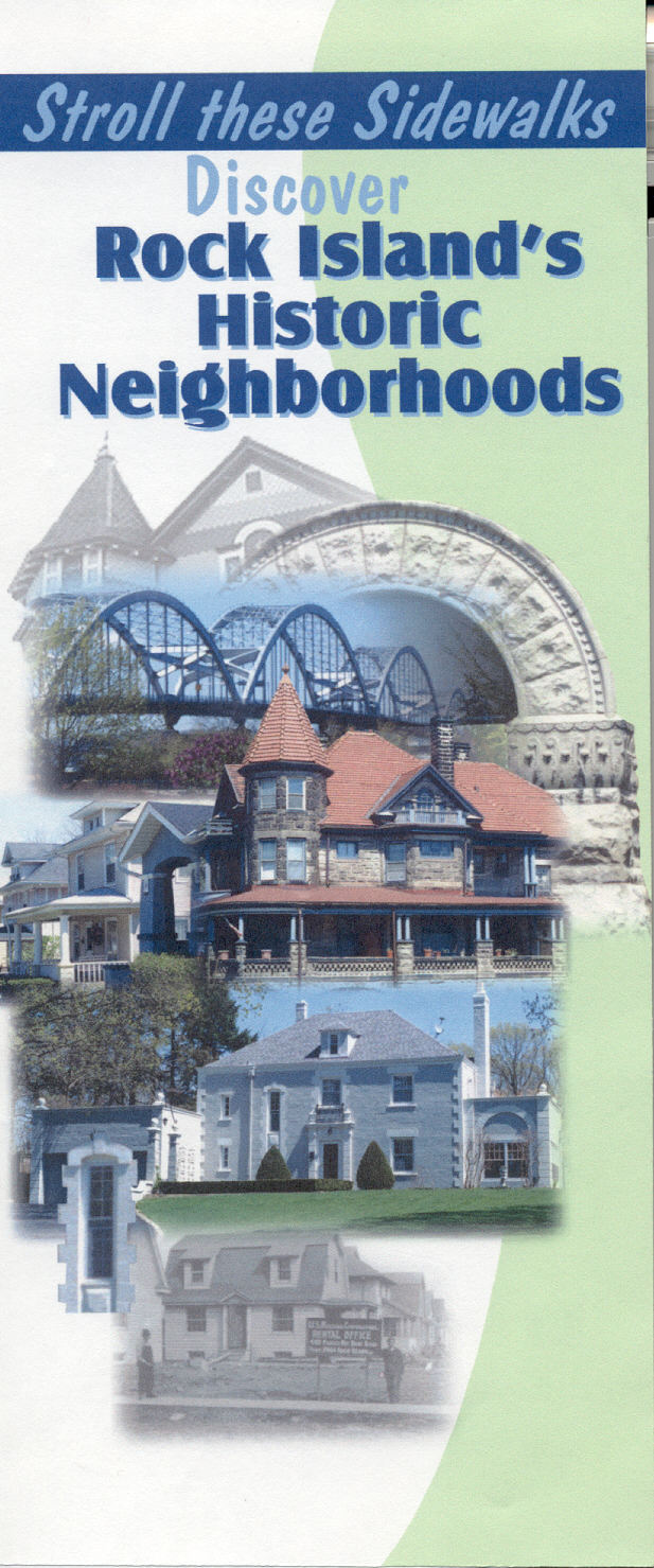 Rock Island Historic Neighborhood Brochure Cover