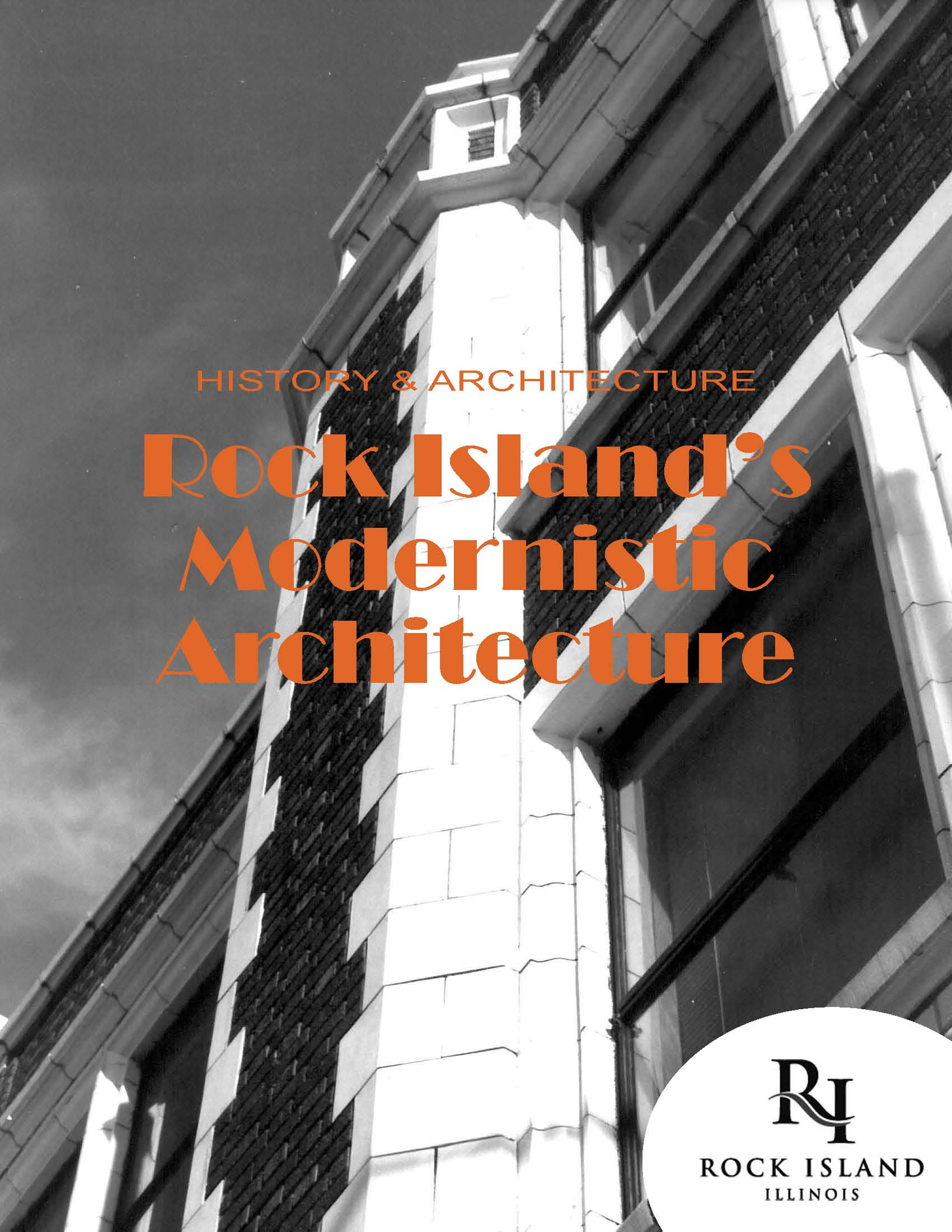 Rock Island Modernistic Architecture Brochure Cover