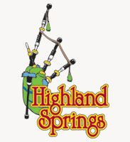 Highland Springs Logo with Grey Background