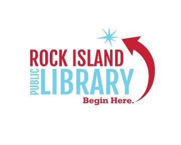 Rock Island Public Library Logo_Red and blue