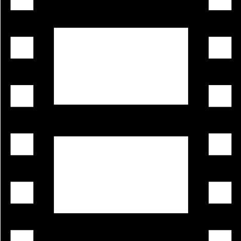 movie filmstrip icon