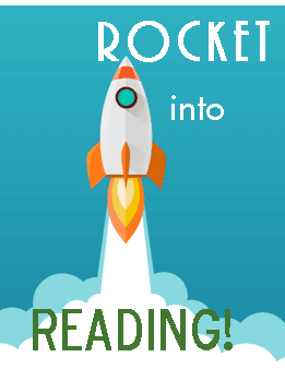 Rocket into Reading logo for new program