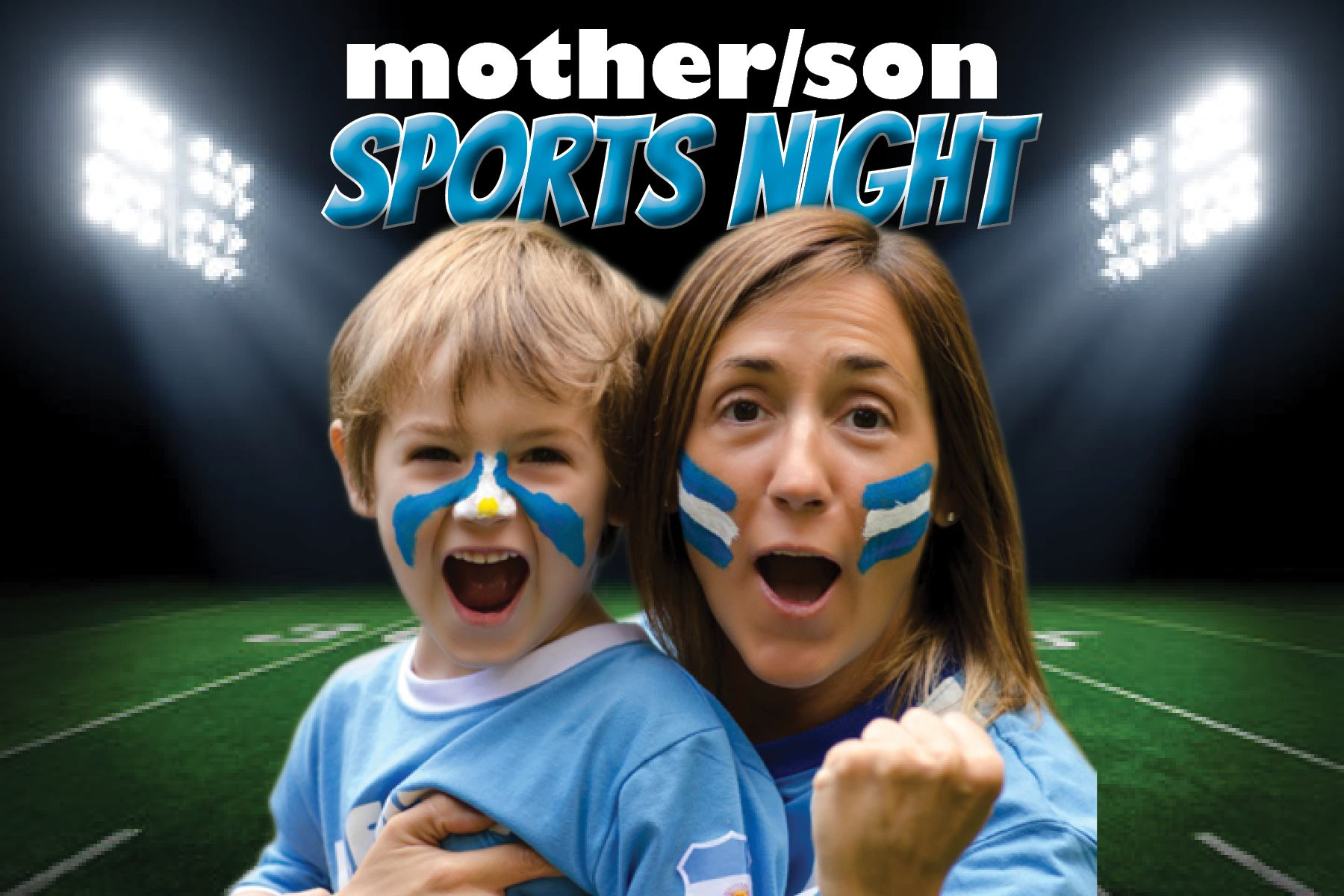 mother son sports night
