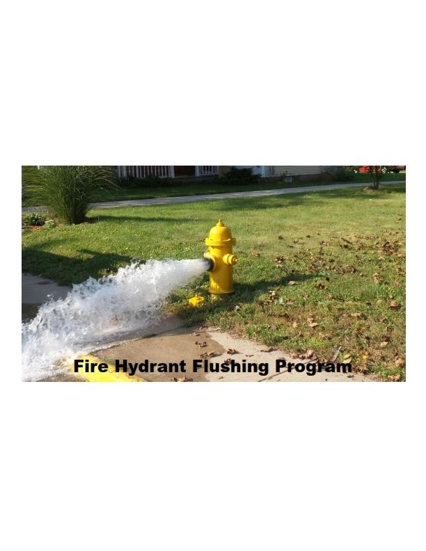 Fire Hydrant Flushing Program