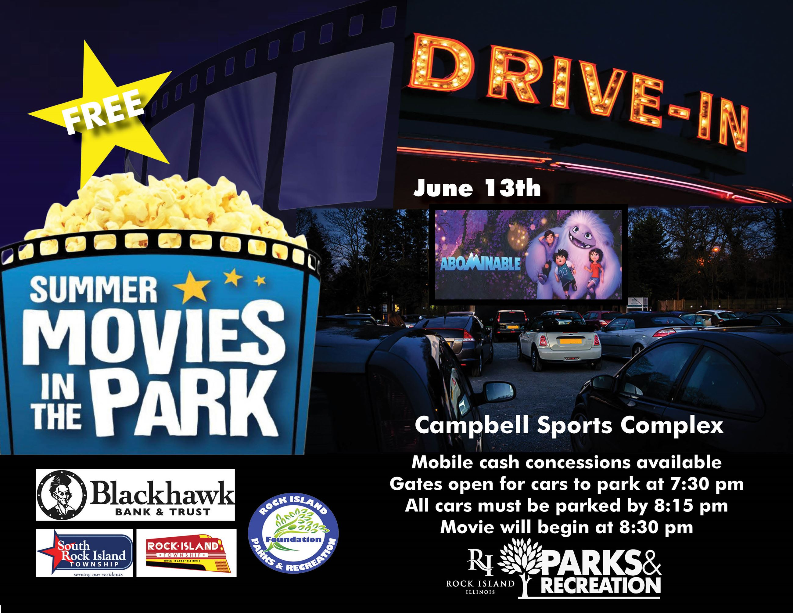 Drive in movie june