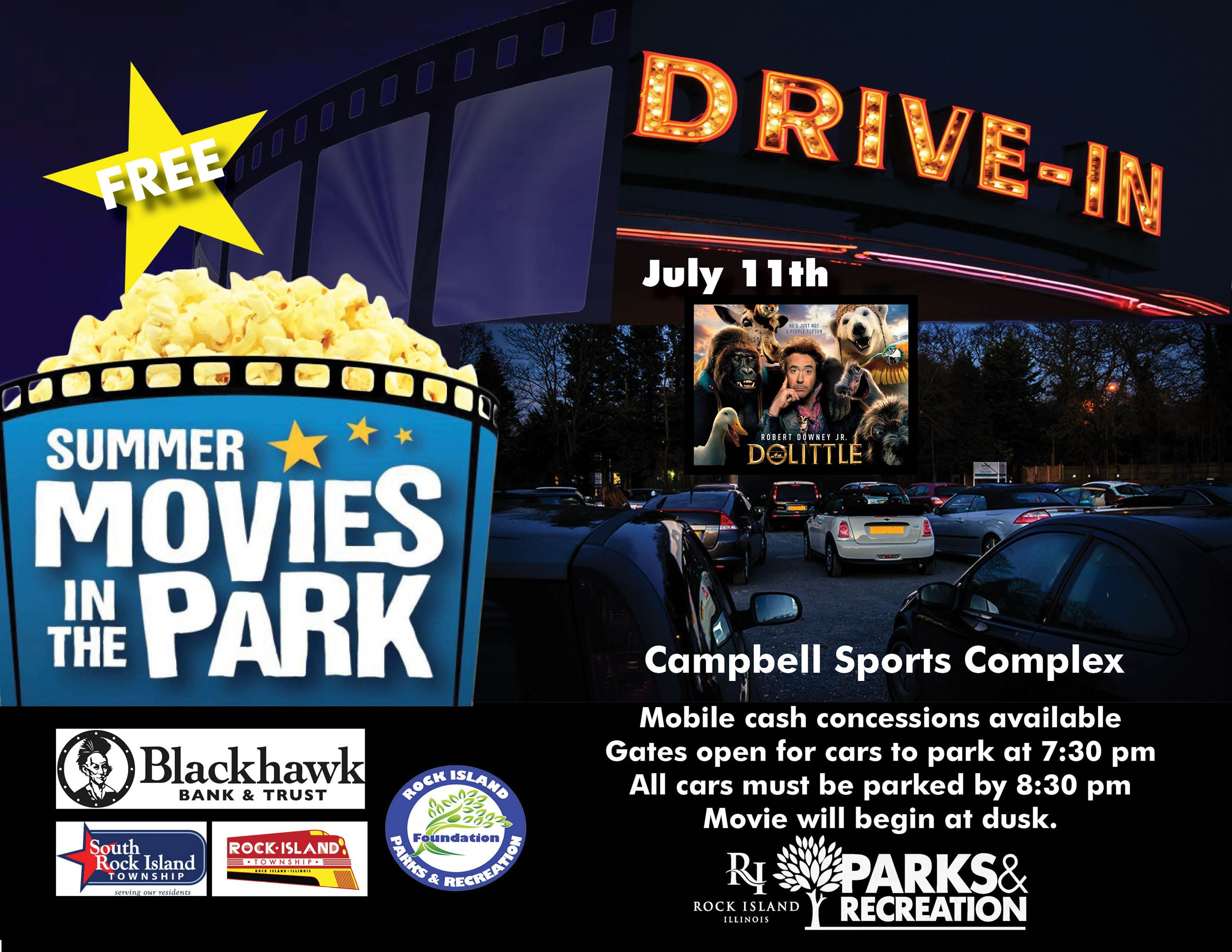 Drive in movie july