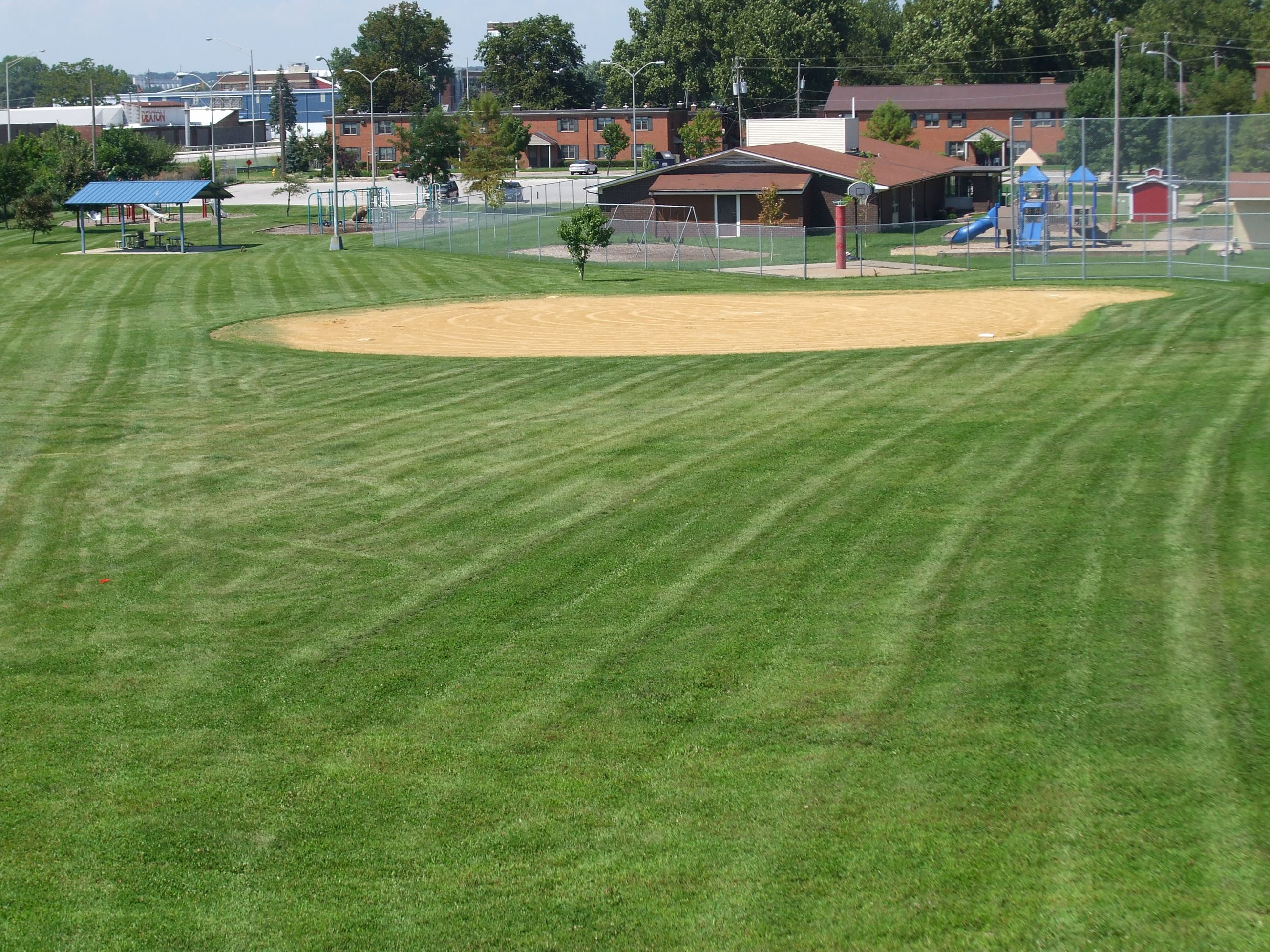 Baseball field at Rauch Park
