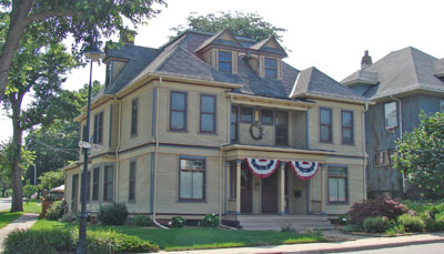 Willis House (Charles & Charlotte Willis), 1203-05 17 Street, Rock Island, IL