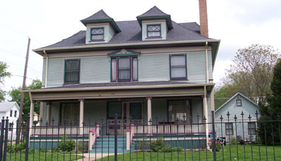 McCandless House (Dr. Albert McCandless), 903 23 Street, Rock Island, IL
