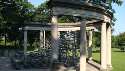 Colonnade, Lincoln Park, Rock Island, IL